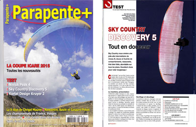Parapente article
